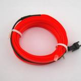 EL wire Rood_