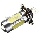H7 High power 7.5W COB 6000k 600LM wit  (Dagrijverlichting / breedstraler)_