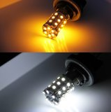 BAY15D Dual color (wit/geel) 60x 1210SMD LED_