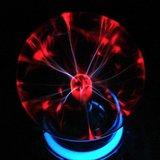 12V Plasma bol met neon en muziek sensor_