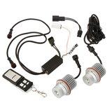 1 set E39 10W RGB Angel Eyes met Controller LED Marker geschikt voor BMW_