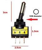 12V 20A LED tuimel schakelaar aan/uit kleur: rood _