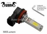 H8/H11 2x 9W COB LED 800LM ( verstelbaar lichtbeeld)_