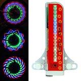spaak wiel verlichting 32LEDs met 32 patronen en motion sensor_
