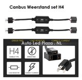 H4 canbus led verlichting weerstand plug and play 2st_