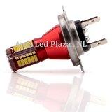 H7 57x 3014SMD LED ( dagrijverlichting/Breedstraler)_