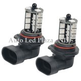 2x HB3 9005 27 leds RGB 5050SMD LED incl, remote controll_