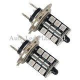 2x H7 27 leds RGB 5050SMD LED incl, remote controll_