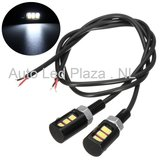 Universeel 3x5730SMD LED interieur sfeer licht WIT_