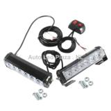 2x 6 LED highpower flash strobe signalering unit oranje, met 7 strobe functie_