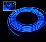EL wire blauw 4m_