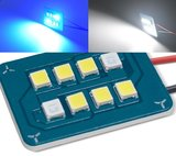 Led panel two tone (Blauw over naar wit) incl. adapters  _