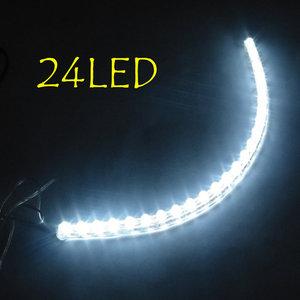 24 LED flexibele strip 27 cm