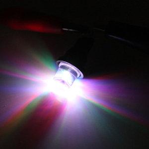 T10 W5W 1x LED wijd licht : multi kleur