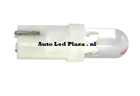 T5 1 LED rond Wit