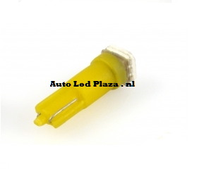 T5 1x 5050smd LED geel
