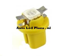 B8.3D 1x led 5050 SMD geel