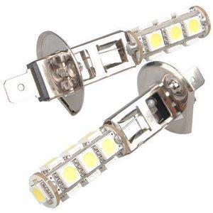H1 13 LED SMD 5050 (Dagrijverlichting / breedstraler)