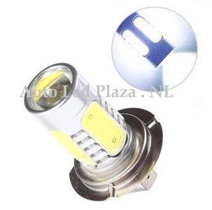H7 High power 7.5W COB 6000k 600LM wit  (Dagrijverlichting / breedstraler)
