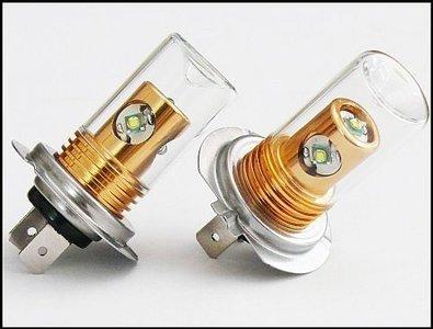 H7 CREE 20W fog light 9-30V (Dagrijverlichting / breedstraler)