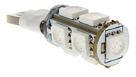 T10 Flash 9x LED SMD 5050 Strobe Flash