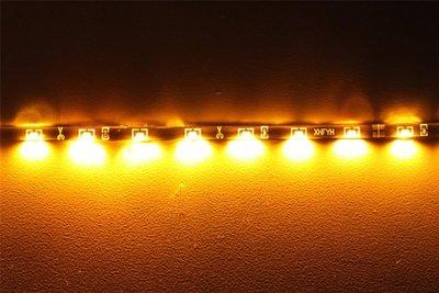 Side shine ledstrip 60cm 30leds geel