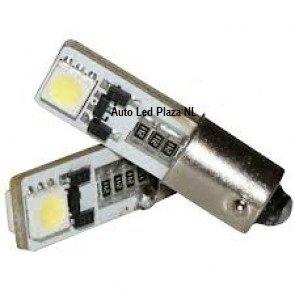 BAZ9S / H6W 2 SMD LED bajonet fitting CanBus