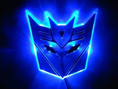Transformers Septicon LED badge blauw