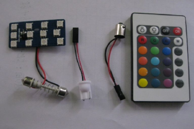 Multicolor LED panel incl. afstandbediening