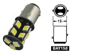Duplo:BAY15D 19SMD 5050 CANBUS
