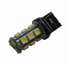 Duplo: T20 W21/5W 7443 18 LED 5050 SMD ROOD