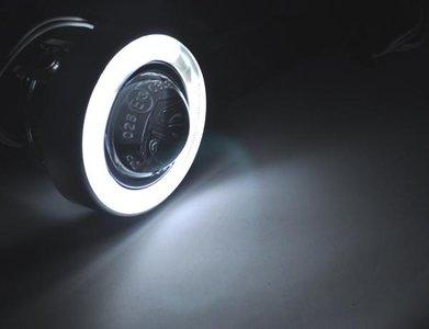 H3 mistlamp projector met ccfl angel eyes