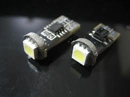 T10 1x 5050SMD LED Canbus