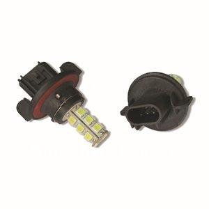 H13 18X 5050SMD LED Wit (Dagrijverlichting / breedstraler)