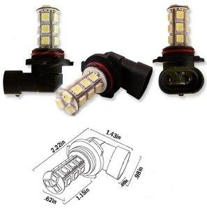 HB4 9006 18X 5050SMD LED Wit (Dagrijverlichting / breedstraler)