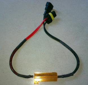 9006 LED DECODER 50W 6 OHM weerstand set a 2 stuks