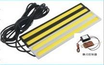 DRL COB LED met strobe / flash functie incl. afst. bediening
