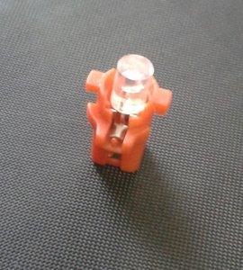 B8.3D 1 led plat rood