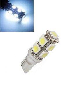 T10 W5W led 9x 5050 SMD LED Wit