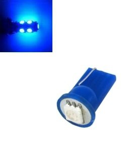 T10 W5W led 1x 5050 SMD LED Blauw