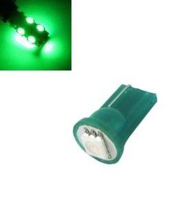 T10 W5W led 1x 5050 SMD LED groen