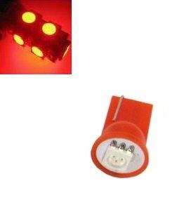 T10 W5W led 1x 5050 SMD LED rood