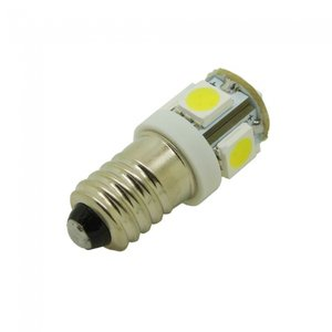 E10 5x 5050SMD LED Let op: 6V