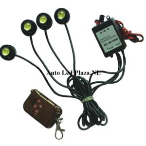 4x Eagle eye flash set incl. remote controll