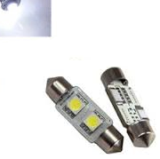 C5W 31MM 2X 5050SMD LED xenon wit