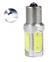 BA15S 7,5W COB high power led xenon wit
