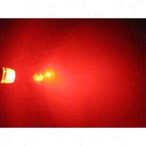 (new) W5W T10 1W highpower glow-head LED rood