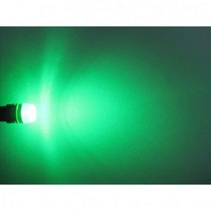 (new) W5W T10 1W highpower glow-head LED groen
