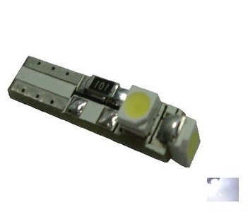 Canbus T5 3x 1210SMD LED xenon wit