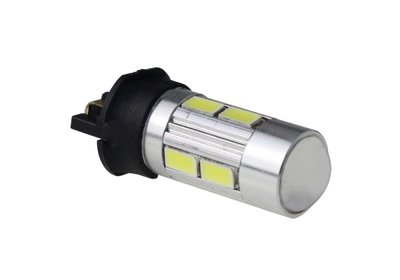 PW24W 10x 5630SMD incl. lens 12V AC xenon wit